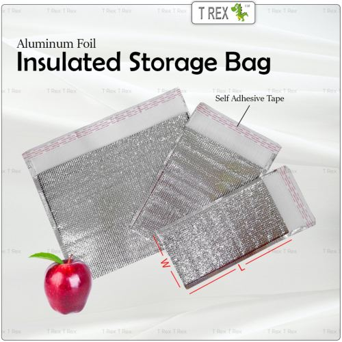 Aluminum Foil Insulated Food Storage Bag Thicken Insulated Thermal Cooler Bag