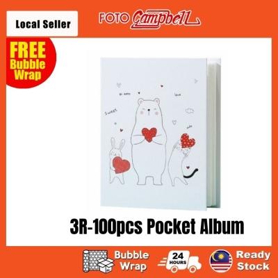 3R Album(100pcs), Photo Album, Album Gambar 3R, READY STOCK--- love bear