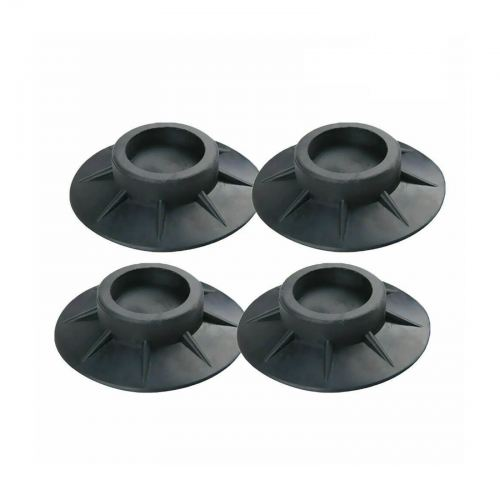 washing machine support and noise cancelling pads