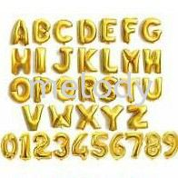 """16"""" Alphabet Balloon Letter A - T (U TO Z Will be Continue to Another Item Page)"""