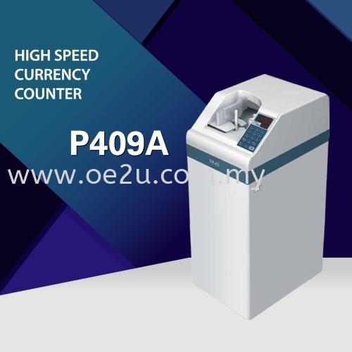PLUS P409A Vacuum Type Banknote Counter (Suction Floor)