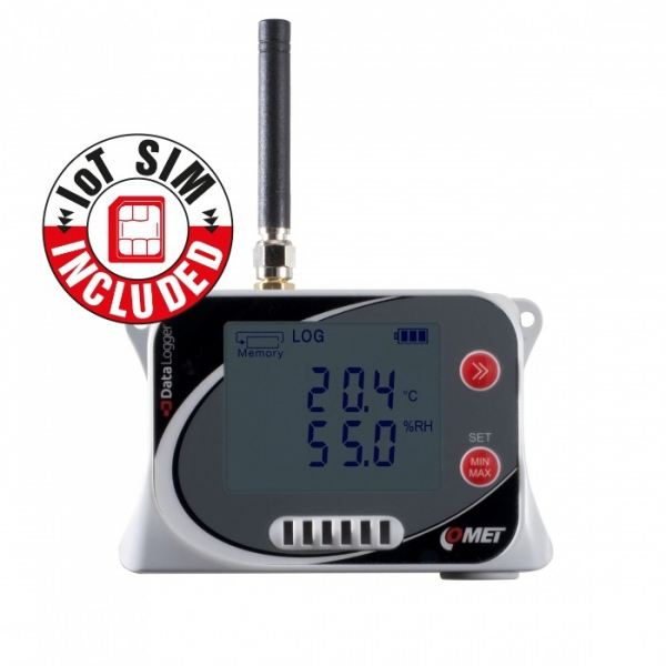 Comet U3120Msim IoT Wireless Temperature and Relative Humidity Datalogger Data Loggers Comet Singapore Distributor, Supplier, Supply, Supplies | Mobicon-Remote Electronic Pte Ltd