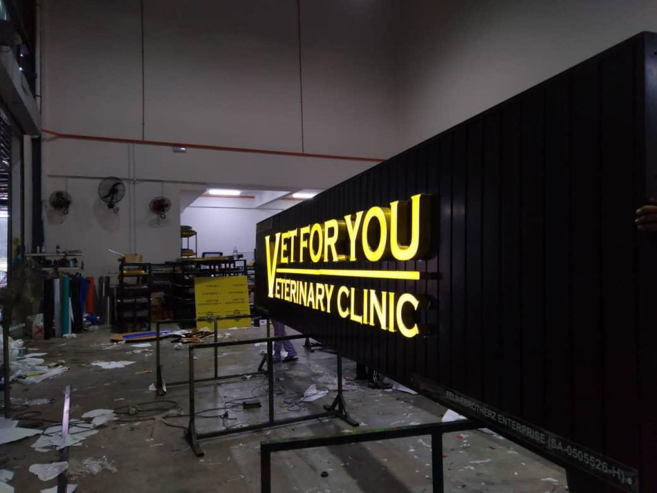 3d Led Boxup Signboard At Wisonmarketing