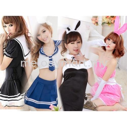 Sexy Women Cosplay Costumes Bunny dress Student Costume