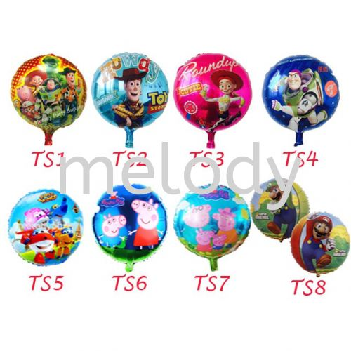 """Foil 18"""" Balloon Toy Story"""