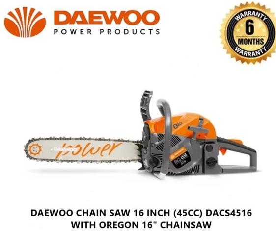 daewoo chain saw 45cc DCS4516T