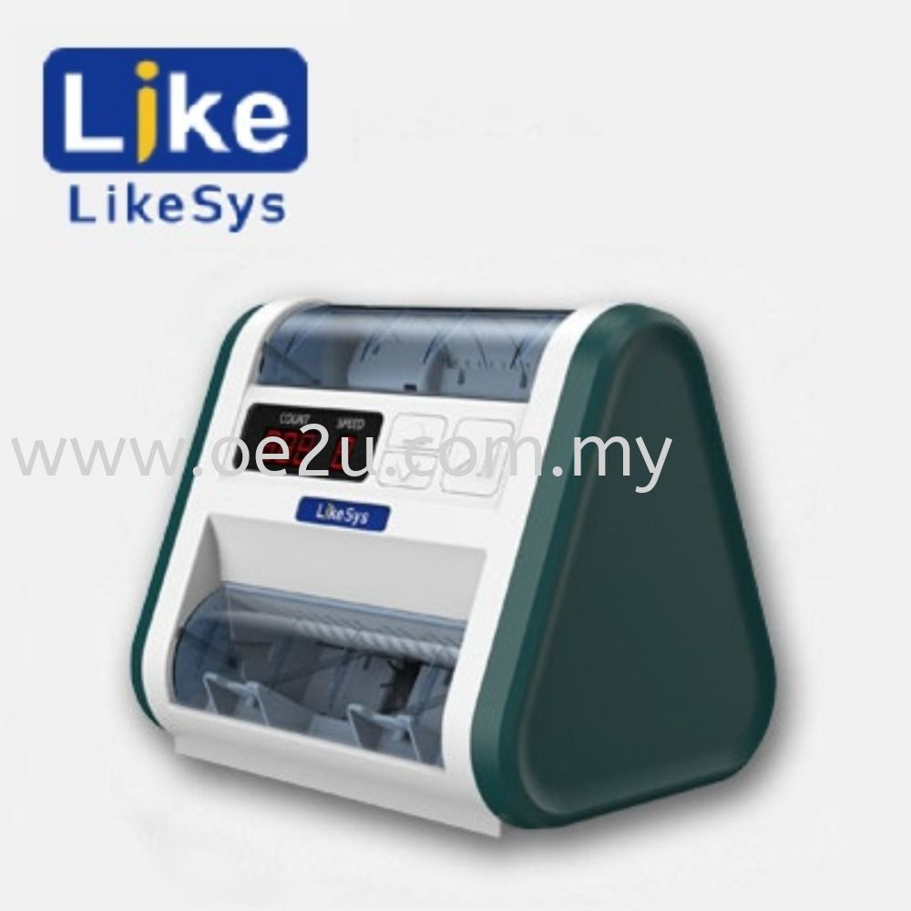 LIKESYS LS-10 Banknote Sterilization Counter (Counting and Sterilization together !!)