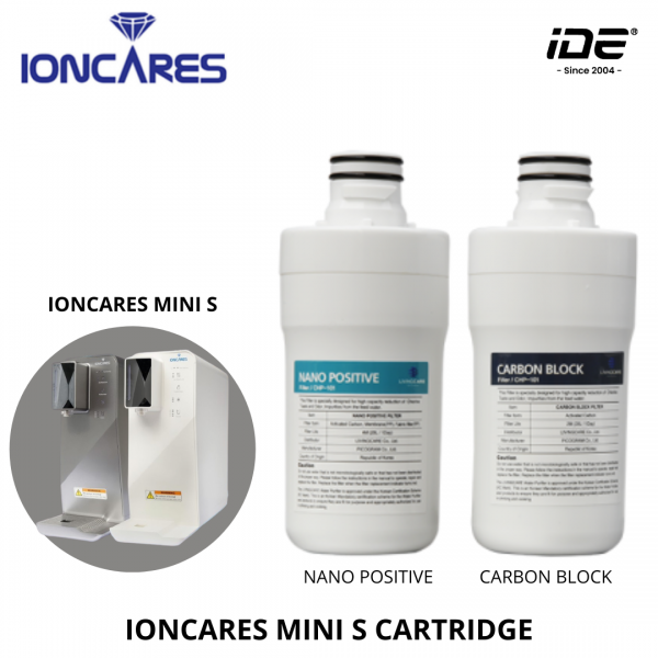 IONCARES MINI S Replacement Filter Cartridge  Filter Cartridge Filter Cartrdige and Accessories Johor Bahru (JB), Malaysia Supply, Supplier & Wholesaler | Ideallex Sdn Bhd