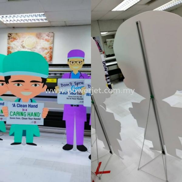 Foamboard Print and Cut Outer Shape EVENT & SHOW Puchong, Selangor, Malaysia Supply, Design, Installation   Power Jet Solution Sdn Bhd