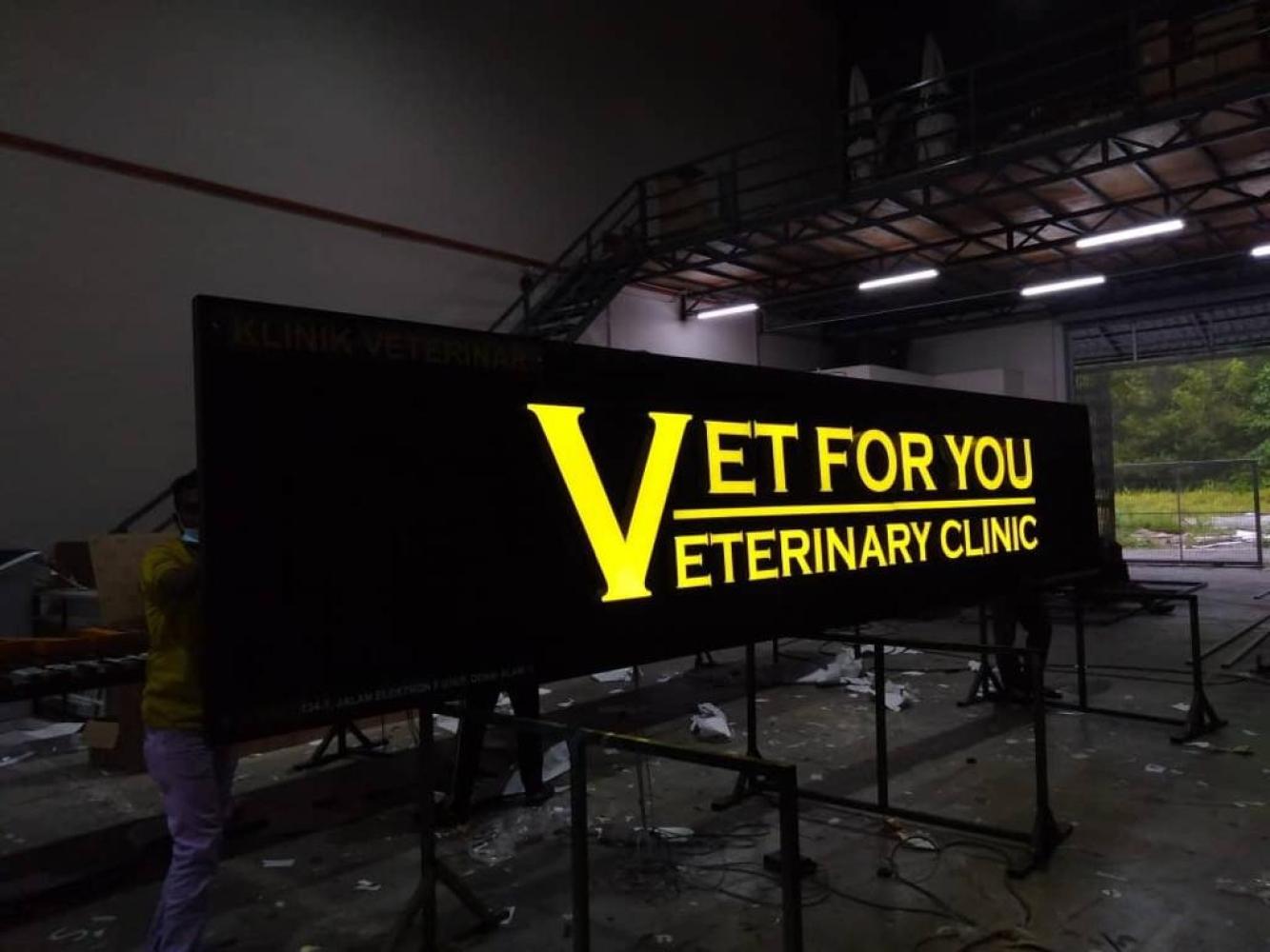 3d Led Signboard At Selangor