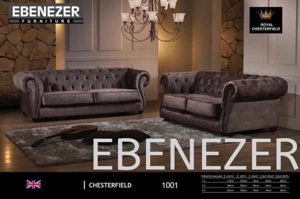 EB-CHESTERFIELD SOFA 1001 Fabric Sofa Sofa Penang, Malaysia, Butterworth Manufacturer, Supplier, Supply, Supplies | Ebenezer Furniture