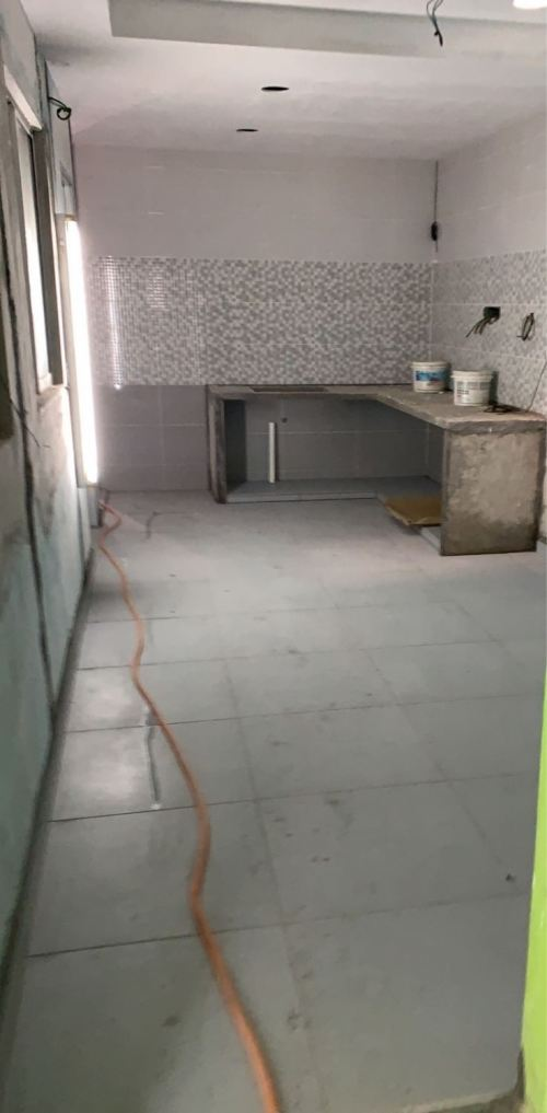 Wall Tile & New Concrete Table Top