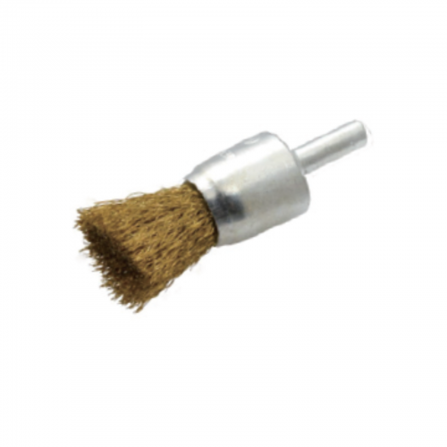 Flat End Brass-Coated Wire Decarbonising Brushes