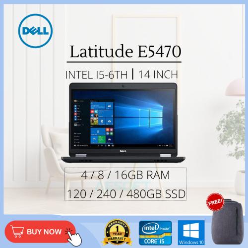 Dell Latitude E5470 / 14'' / i5-6th