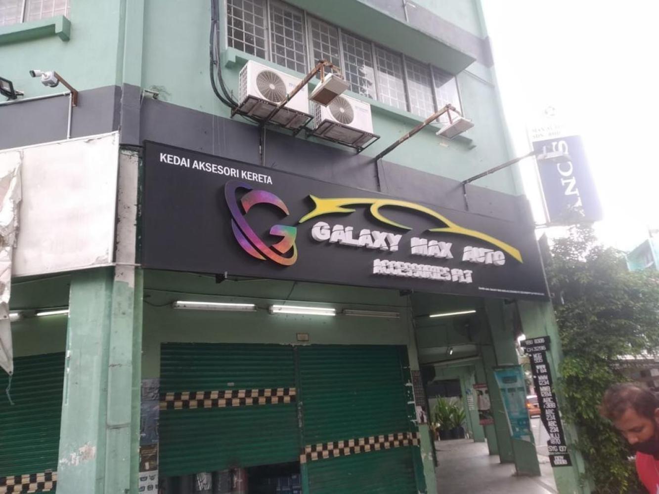 3d Led Boxup Signboard At Selangor