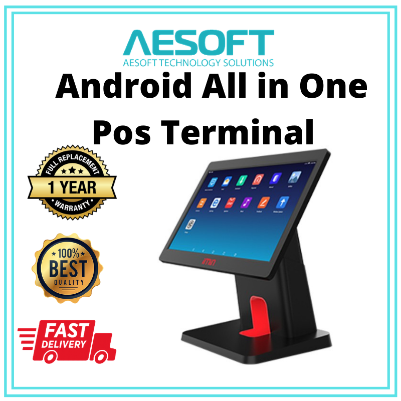 Android All in One Pos terminal 15.6 inch D3-504