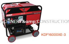 'KOOP' Open Frame Diesel Generator KDF16000XE-3
