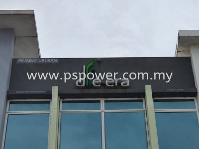 3D Lettering Outdoor Signage