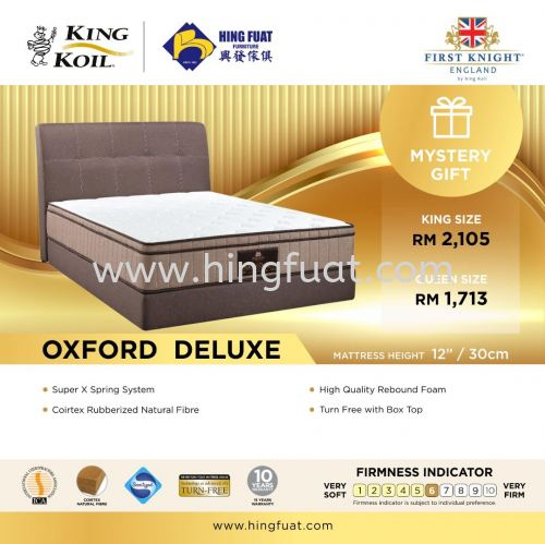 KING KOIL First Knight Oxford Deluxe Mattress