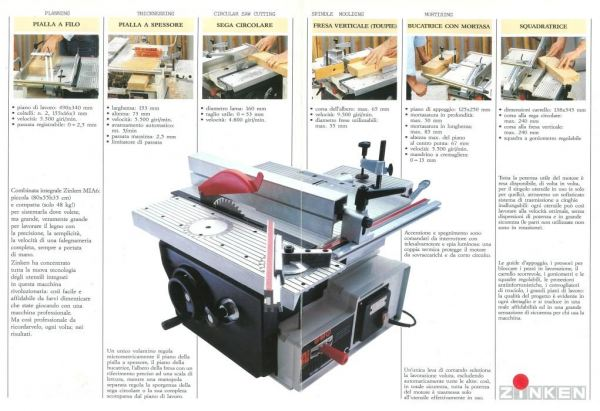 ZINKEN COMBINED WOOD-WORKING MACHINE C/W SPINDLE PROTECTION (160MM) MULTI FUNCTION / COMBINED WOOD WORKING MACHINE WOODWORKING TOOLS Singapore, Kallang Supplier, Suppliers, Supply, Supplies | DIYTOOLS.SG