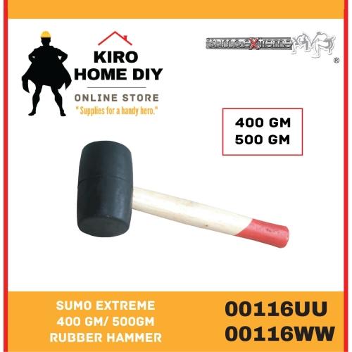 SUMO EXTREME  400 Gram/ 500Gram Rubber Hammer - 00116UU & 00116WW