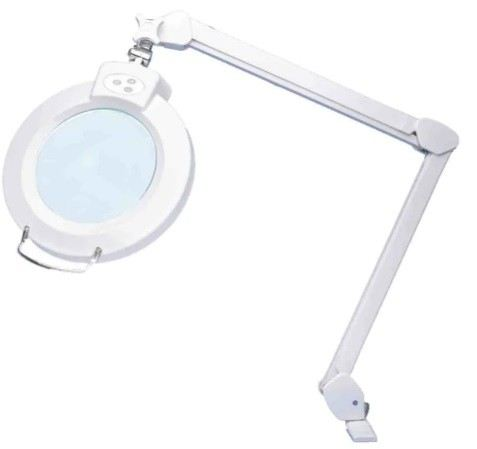 201-7941 - RS PRO LED Magnifier Lamp with Table Clamp Mount, 3 Dioptrie, 12dioptre, 175mm Lens
