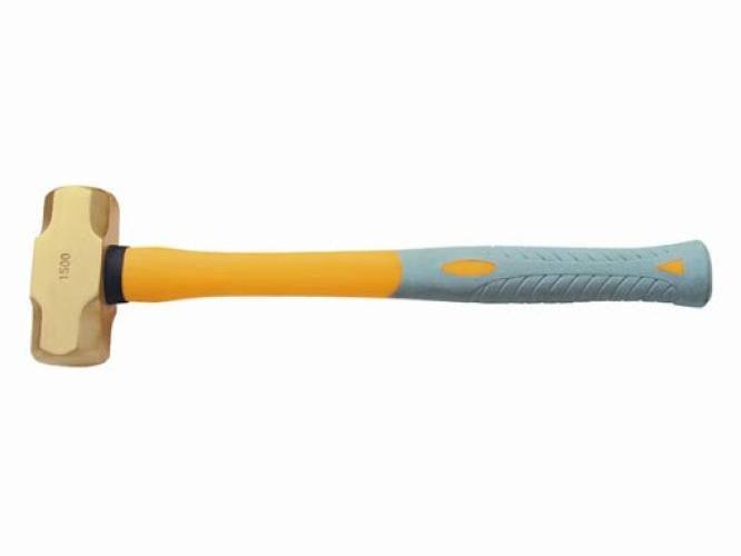 EXCELMANS 21011A Brass Hammer, Sledge