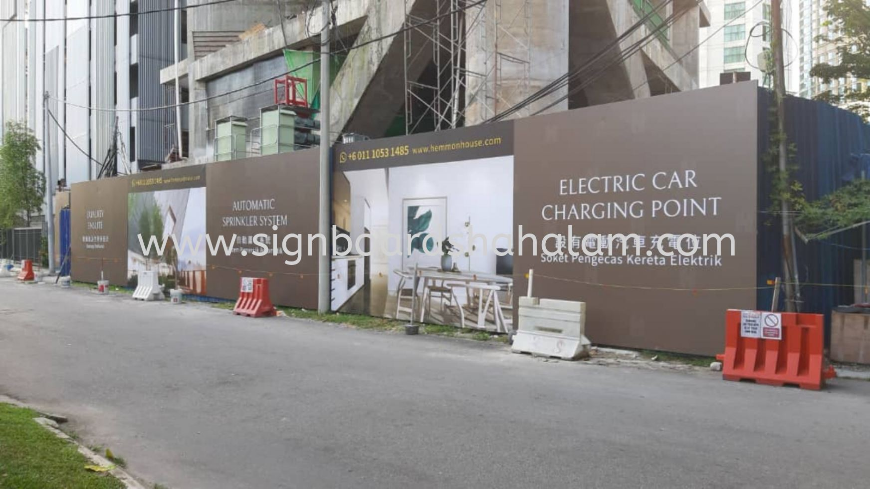Forebase Property Sdn Bhd KL - Hoarding Board outdoor