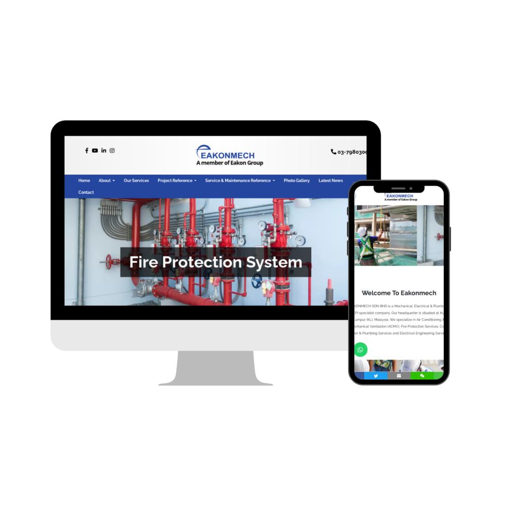 Kuala Lumpur (KL) Web Design | Website Design - ACMV Service