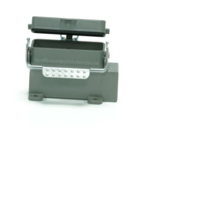 208-4901 - RS PRO Side Entry Heavy Duty Power Connector Hood, Surface Mount