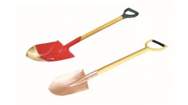 1981C Shovel, Square With Long Handle