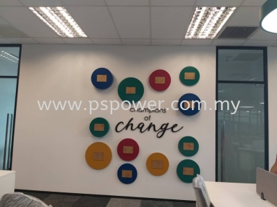 Laser Cut Acrylic Lettering - Indoor Signage