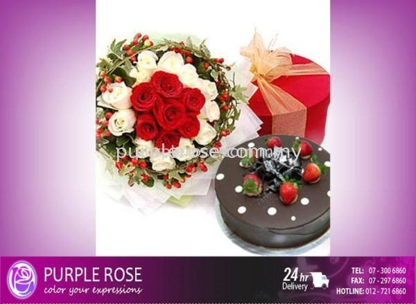 Chinese Valentine's Day七夕情人节-03 Chinese Valentine's Day Johor Bahru Supply, Supplier, Delivery | Purple Rose Florist & Gifts