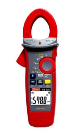 204-8312 - RS PRO 175 Industrial Clamp Meter, 600A dc, Max Current 600A ac CAT III 1000V, CAT IV 600
