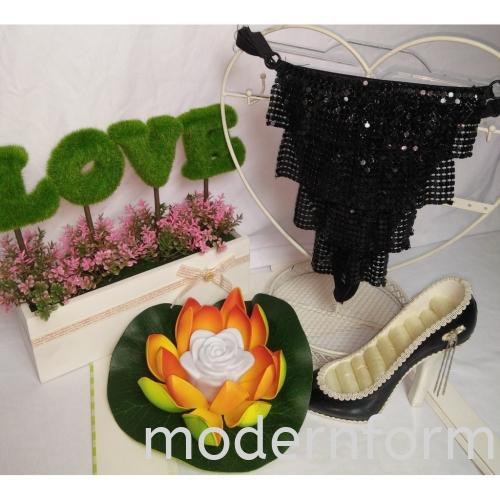 Modernform Female Sexy Dancing Panties (1280FW-F SEXY PANTIES - BLACK)