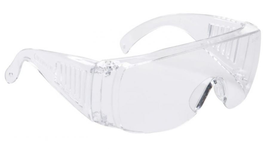 184-5936 - RS PRO UV Safety Glasses, Clear Polycarbonate Lens