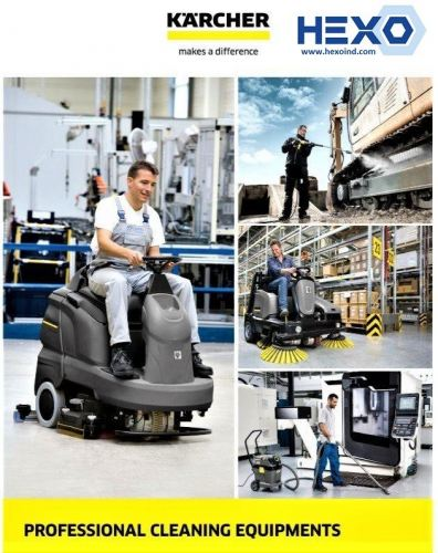 Karcher Professional Cleaning Equipments