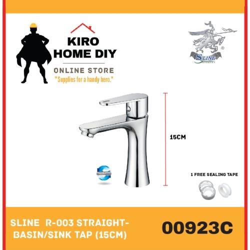 SLINE  R-003 Straight Basin/Sink Tap  - 00923C
