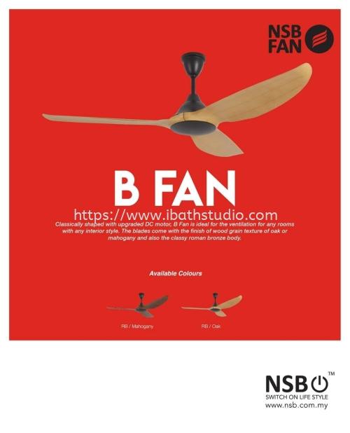 NSB BFan 60-inch Ceiling Fan