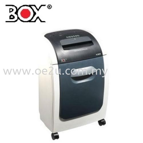 BOX HC2002D Paper Shredder (Shred Capacity: 20-22 Sheets, Cross Cut: 4x44mm, Bin Capacity: 32 Liters)