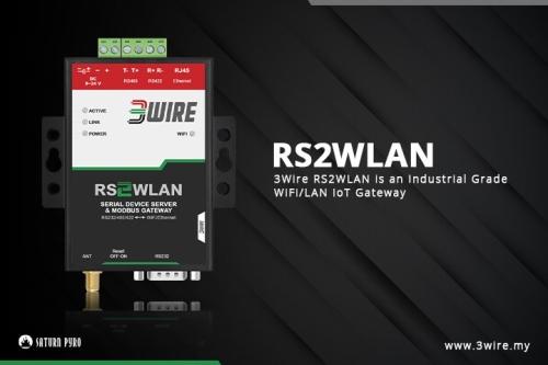 3Wire RS2WLAN - IoT Gateway