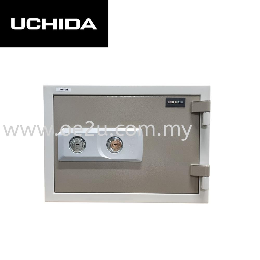 UCHIDA UBH-57K Fire Resistant Safe Box (Double Keylock)_57kg