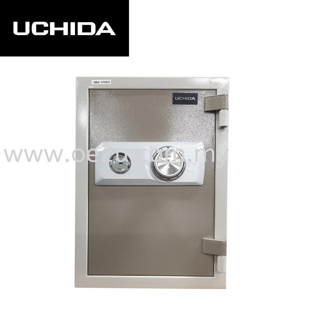 UCHIDA UBH-57VCD Fire Resistant Safe Box (Dial Lock)_57kg