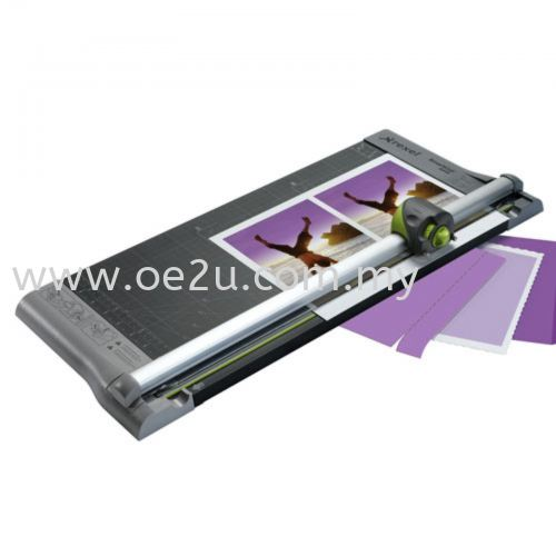 REXEL SmartCut A445 4-in-1 Paper Trimmer (Cutting Length: 457mm / A3, Cutting Capacity: 10 Sheets)