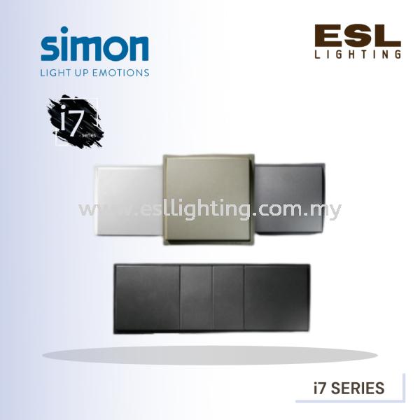 SIMON i7 SERIES SWITCHES i7 SERIES SIMON Switches SIMON  Selangor, Malaysia, Kuala Lumpur (KL), Seri Kembangan Supplier, Suppliers, Supply, Supplies   E S L Lighting (M) Sdn Bhd