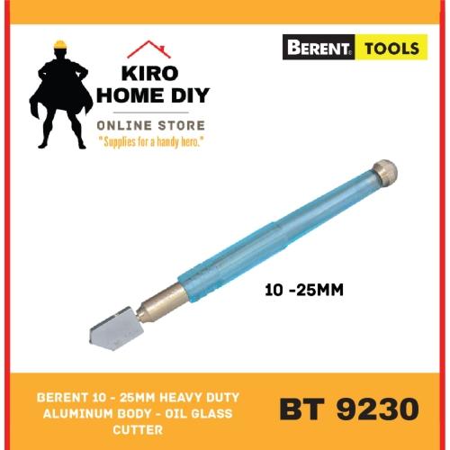BERENT 10 - 25mm Heavy Duty Aluminum Body - Oil Glass Cutter - BT9230