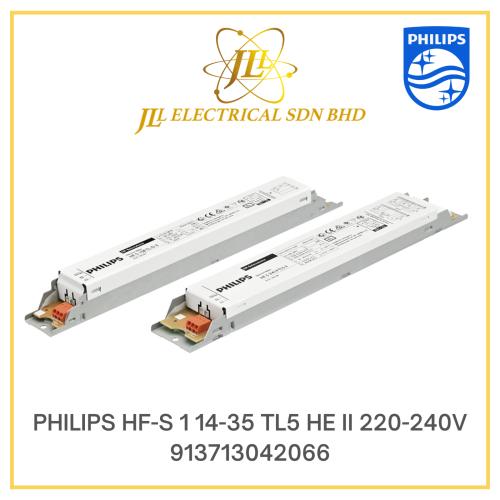 PHILIPS HFS 1x14-35 TL5 HE II ELECTRONIC BALLAST 220-240V 913713042066