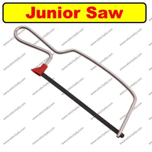 """(迷你锯架)6"""" Chromed Frame Junior Hacksaw"""