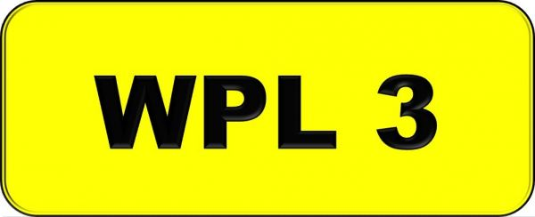 VIP Nice Number Plate (WPL3) All Plate Johor Bahru (JB), Kuala Lumpur, KL, Malaysia. Service   AAA Premium Sdn Bhd