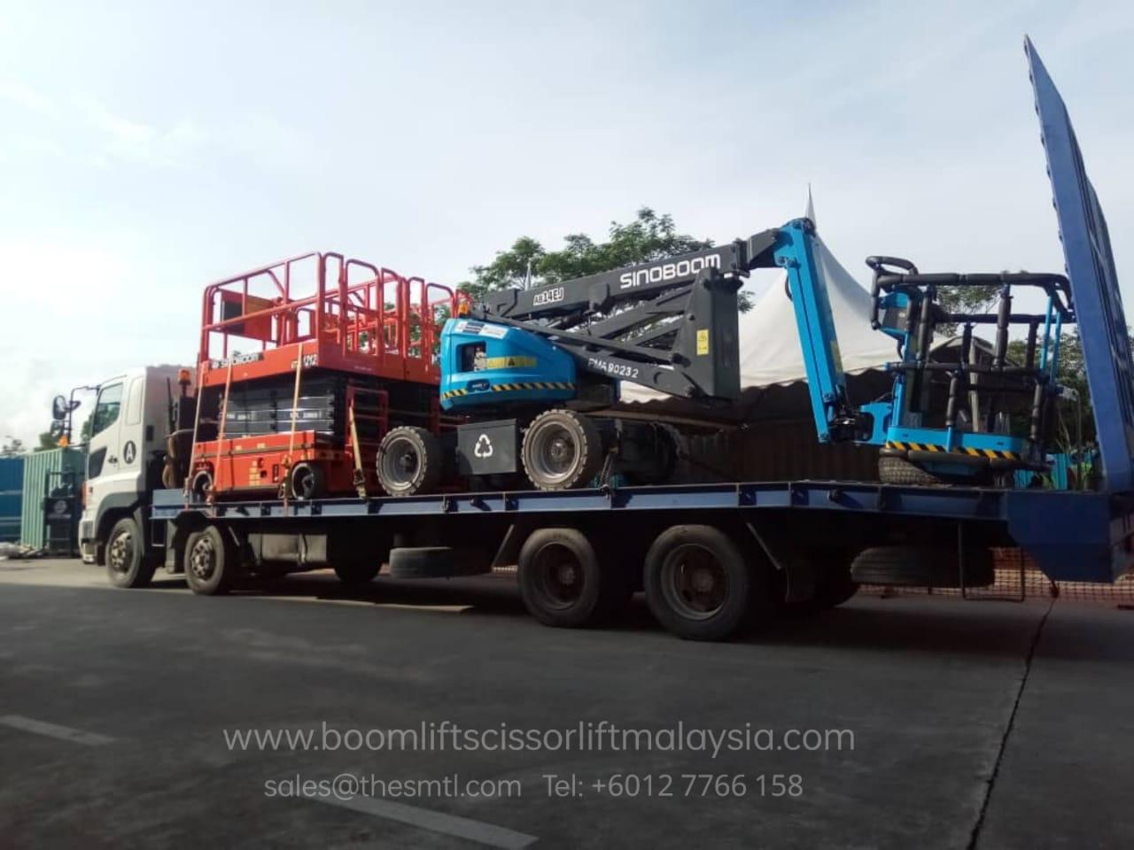 Boom Lift Rental USJ 17